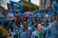 Columbia University holds commencement ceremony