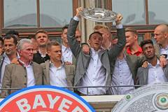 Bayern Munich wins title of German Bundesliga