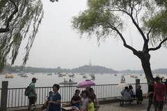 Tourists enjoy Duanwu holiday at Beihai Park