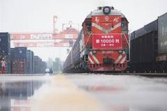China-Europe freight trains make 10,000 trips since 2011