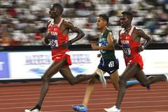 Birhanu Balew of Bahrain claims title of men's 5000m at Asian Games