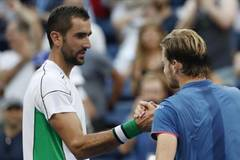 Cilic topples Goffin to reach U.S. Open quarters