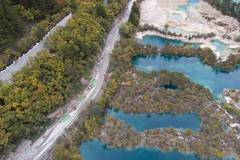 Renovation work underway at Jiuzhaigou Valley Scenic Area