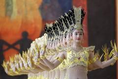 Artists perform Thousand-hand Bodhisattva dance at UN headquarters in New York