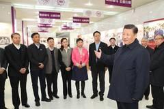 Xi Jinping inspects Tianjin