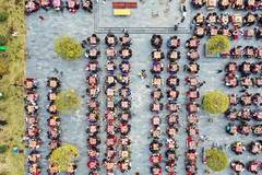 Banquet attended by over thousand people for Spring Festival in Jiangxi