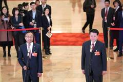 CPPCC members receive interview ahead of 2nd plenary meeting of 2nd session of 13th CPPCC National Committee