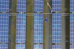 Photovoltaic power plants built in Hengdong as measure of poverty alleviation