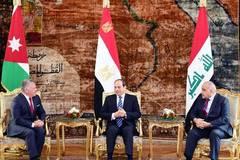 Egypt-Jordan-Iraq tripartite summit held in Cairo