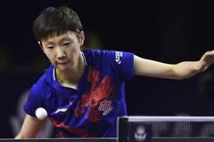 China's Wang Manyu claims title of women's singles at ITTF World Tour Platinum Qatar Open