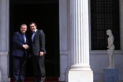 Greek PM meets with Danish counterpart in Athens, Greece