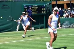 Zhang Shuai/Samantha Stosur into next round of women's doubles at Wimbledon