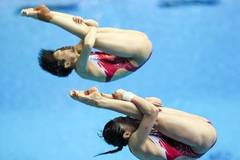 China wins women's 3m synchro springboard at Fina World Championships