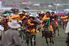 Horse racing festival in Litang County, SW China's Sichuan