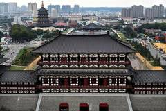 Yingtianmen site museum opens to public in Henan