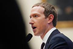 Mark Zuckerberg testifies before U.S. House Financial Services Committee