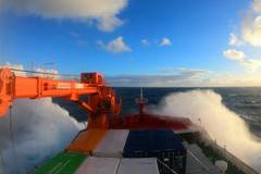 China's polar icebreaker Xuelong 2 leaves port of Hobart for Zhongshan research station