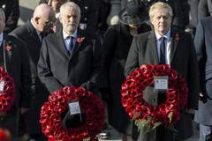 Remembrance Sunday ceremony held in London, Britain