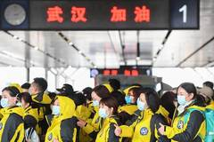 Medical workers from Hunan set off for Wuhan to aid novel coronavirus control efforts
