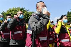 11th batch of 172 medical staff of Fujian departs for Wuhan