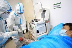 Cured coronavirus patients donate plasma in Hunan