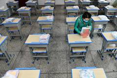 Schools in Guiyang take strict measures against COVID-19, ensuring safe new semester for students