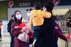 Medical workers from Hunan return home