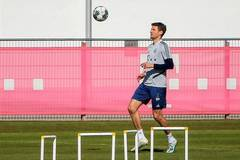 Bayern Munich resume training session after COVID-19 outbreak