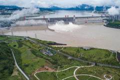 Three Gorge reservoir sees increase of inflow due to heavy rain