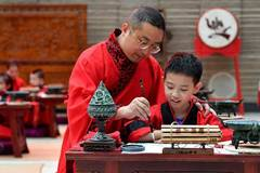 First Writing Ceremony held at museum in Xi'an
