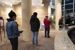 Voting on Election Day underway across U.S.