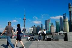 Temperature in Shanghai breaks record over the same period