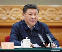 Xi stresses overcoming COVID-19 impact to win fight against poverty