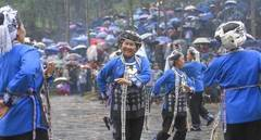 People of Miao ethnic group celebrate Siyueba Festival in central China's Hunan