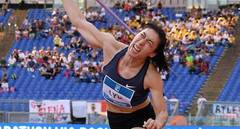 China's Lyu Huihui wins women's javelin throw in Rome Diamond League