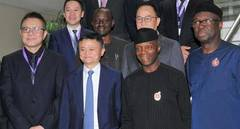 Jack Ma attends Nigeria Digital Economy Summit