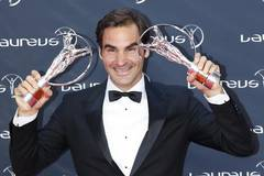 Federer won his fifth and sixth Laureus statuettes