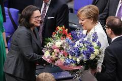 Merkel re-elected as German chancellor for fourth term