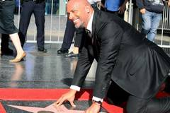 Dwayne Johnson honored with a star on Hollywood Walk of Fame