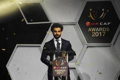Mohamed Salah gets African Player of the Year award