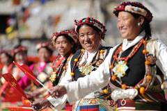 Farmers' New Year celebrated in China's Tibet