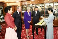 UK PM Theresa May's 3-day visit to China