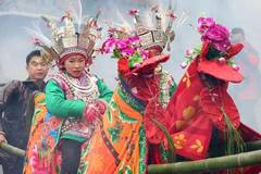 People of Dong ethnic group celebrate
