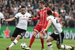 Bayern Munich beats Besiktas 3-1 at UEFA Champions League