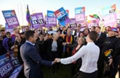 Same-sex marriage signed into law in Australia