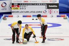China beats Italy 10-5 in men's curling Olympic qualification