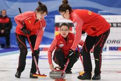 China beats Latvia 11-5 in women's curling Olympics qualification