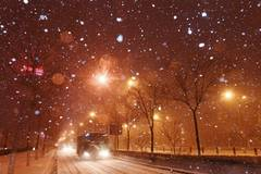 Snowfall seen in most part of Jilin Province