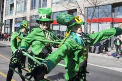 St. Patrick's Day Parade held in Toronto