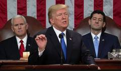 Trump delivers maiden State of the Union address